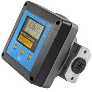 Электронный счетчик учета топлива покажет с высокой точностью количество заправленных литров ДТ. Цифровой дисплей одновременно показывает литраж текущей заправки и общее количество перекачанного топлива